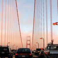 Stau auf der Golden Gate