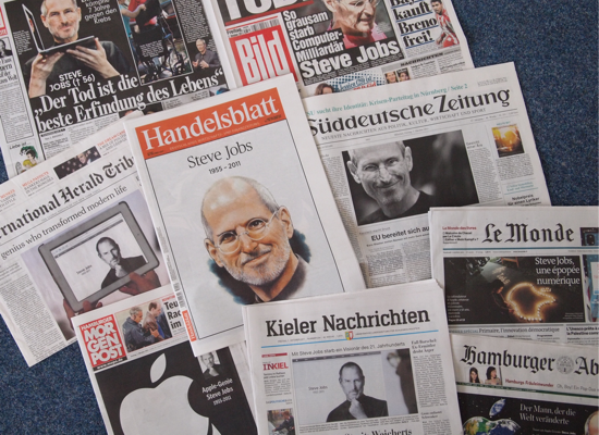 Jobs in der Presse