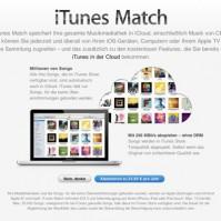 iTunes Match für Deutschland