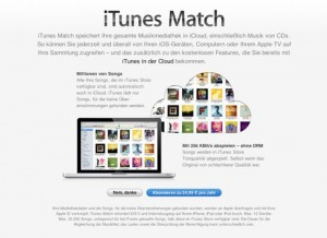 iTunes Match läuft