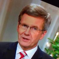 Weihnachtsansprache im TV
