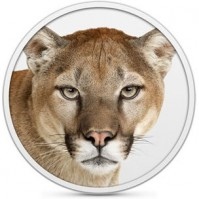 Mountain Lion Logo von Apple