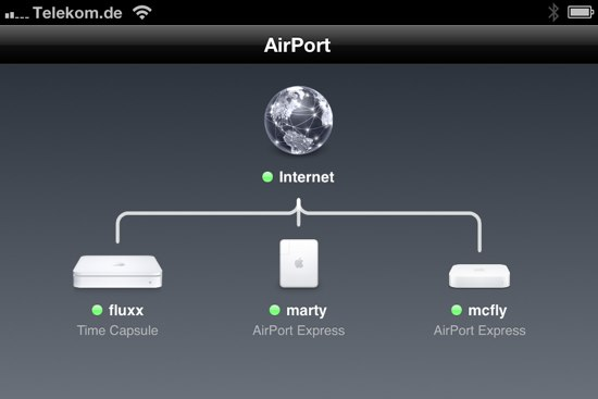 iPhone-AirPort-Ubersicht