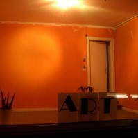 art-door-orange