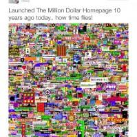 million dollar homepage