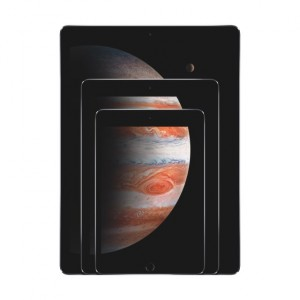 Apple iPad mini, iPad air 2 und iPad pro mit einem Bild vom Jupiter