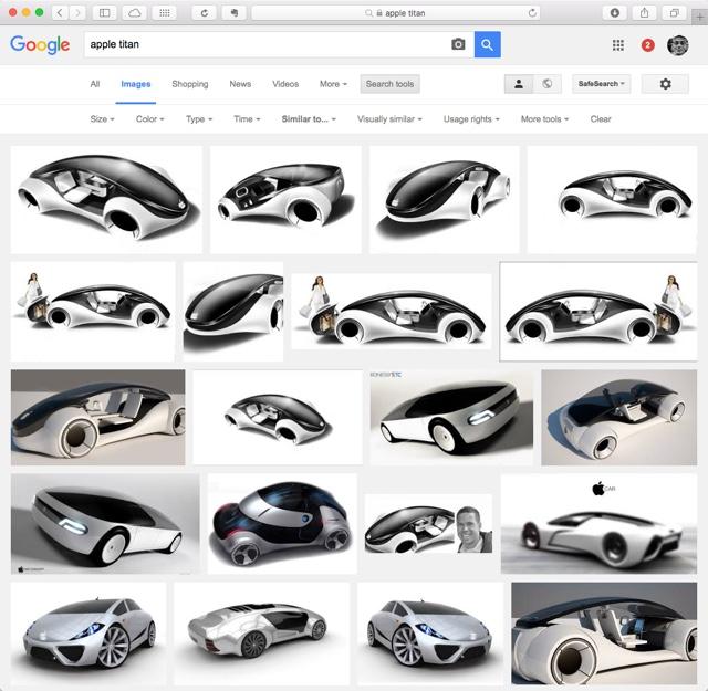 apple titan - Google Search