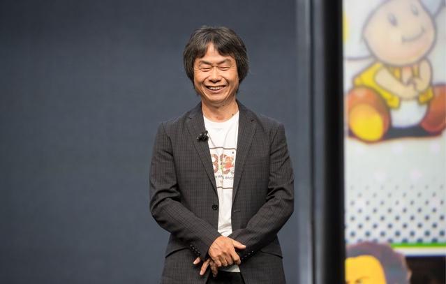 Shigeru Miyamoto ist Spiel-Designer bei Nintendo