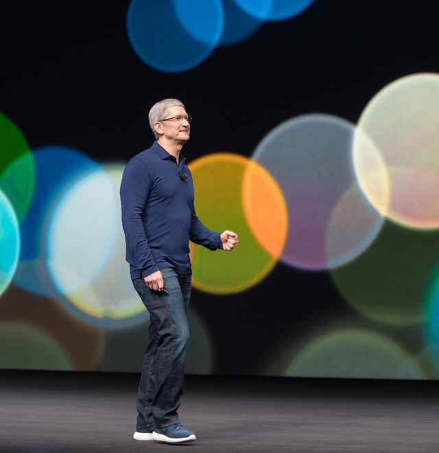 Tim Cook am 7. September