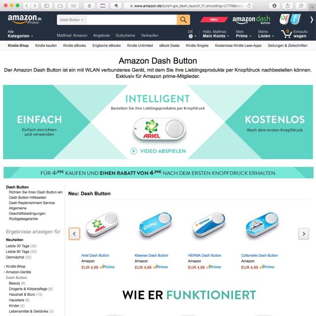 Amazon.de Dash Button
