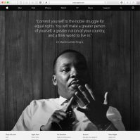Apple ehrt Martin Luther King