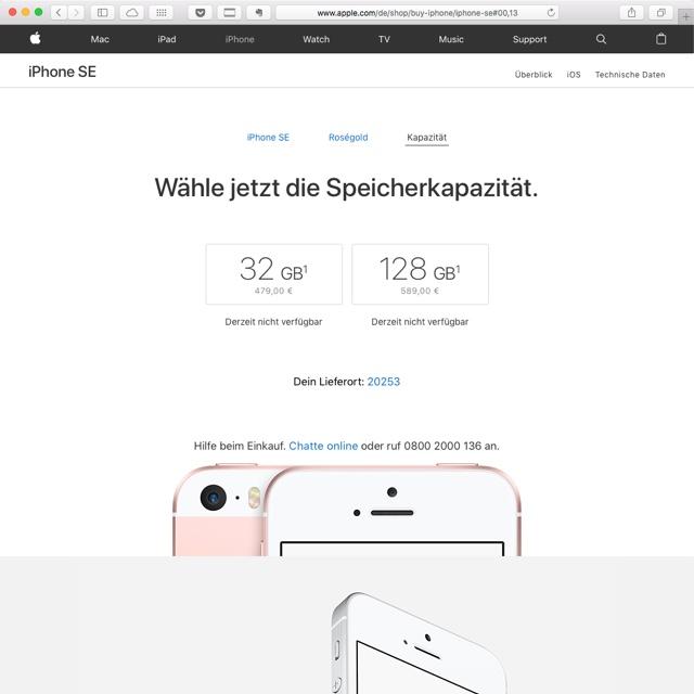 iPhoneSE kaufen