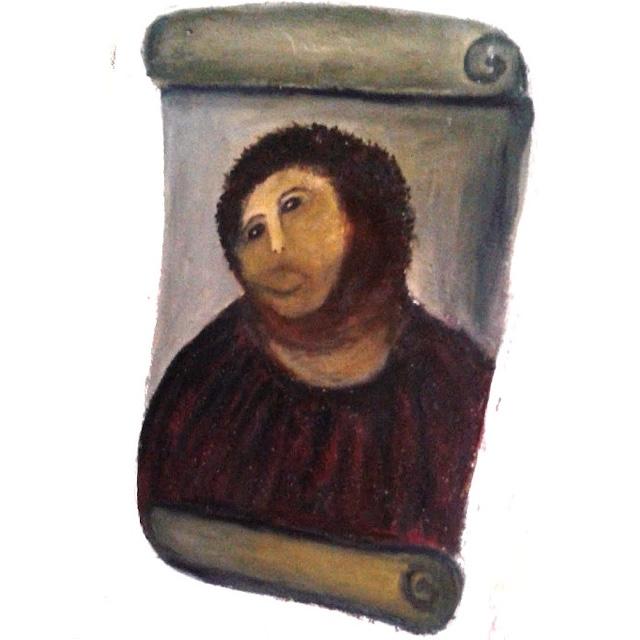 Gesicht von Jesus