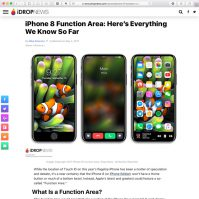 iPhone 8 Function Area- Everything We Know So Far