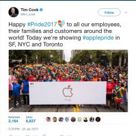 Happy Pride2017 applepride