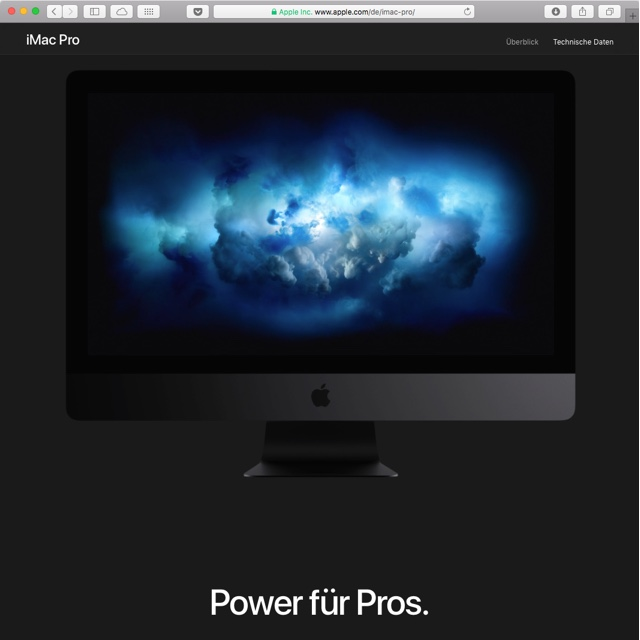 iMacPro (late 2017)