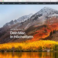 macOS High Sierra Vorschau