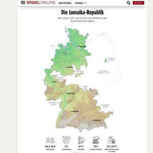 Jamaika ist eine west-deutsche Insel