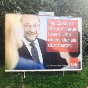 Die Zukunft braucht neue Ideen, von Martin Schulz (SPD)