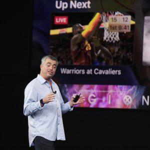 Eddy Cue zeigt Apple TV 4K