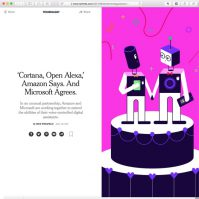 NYT: Cortana open Alexa