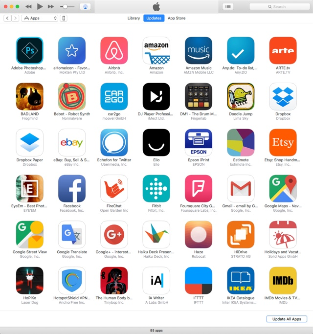 iTunes-App-Updates