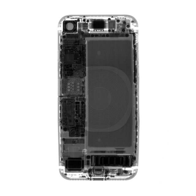 iPhone 8 X-Ray (ifixit)
