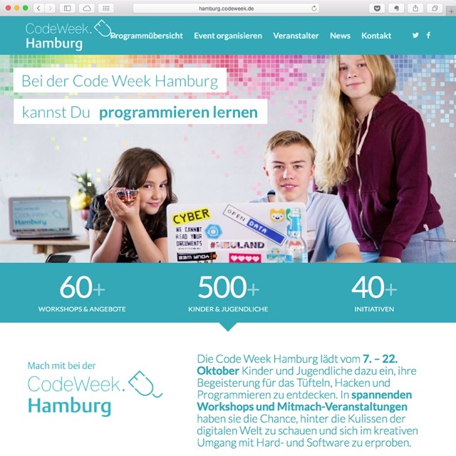 Code Week Hamburg 2017