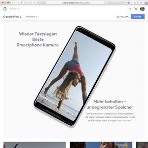 Pixel2. Phone by Google