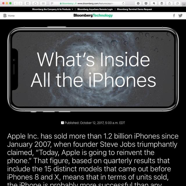Was steckt im iPhone X?