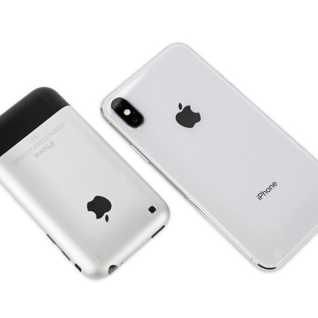 iPhone und iPhone X