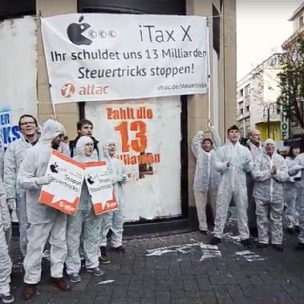 iTax X gegen Steuertricks von Konzernen wie Apple