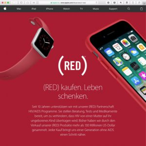 (PRODUCT)RED Apple