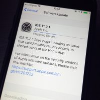 iOS 11.2.1, tvOS 11.2.1 und AirPort Firmware