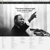 Apple MLK