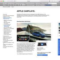 BMW ConnectedDriver Apple CarPlay