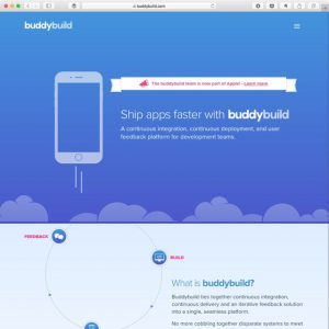 Continuous Integration and Deployment for iOS with buddybuild